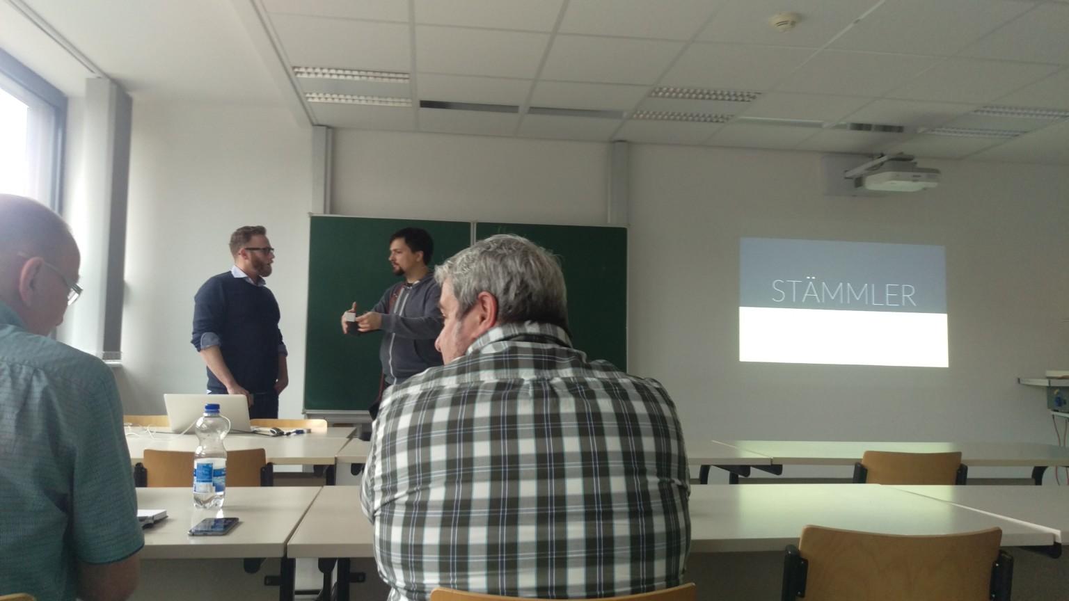 eCommerce Camp Jena 2016 Beginn