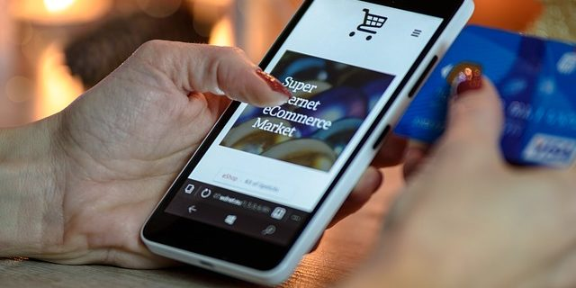 Online Shopping Smartphone