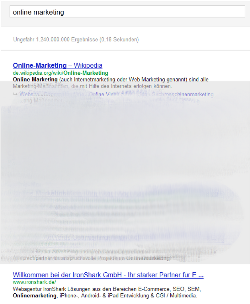 serp Onlinemarketing