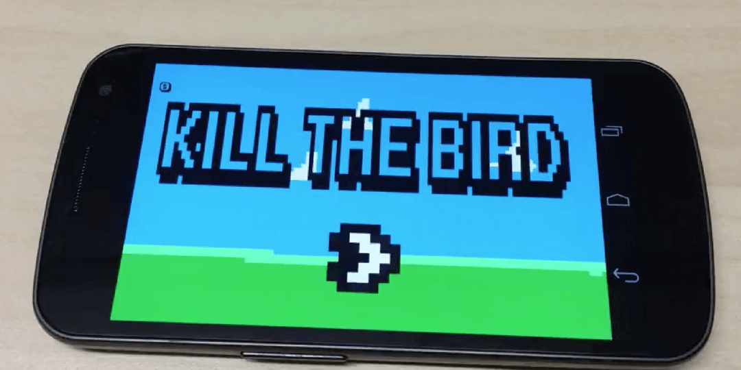 Schüler App Entwicklung Kill the Bird