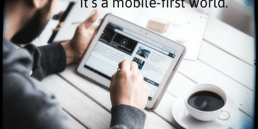 mobile first tablet