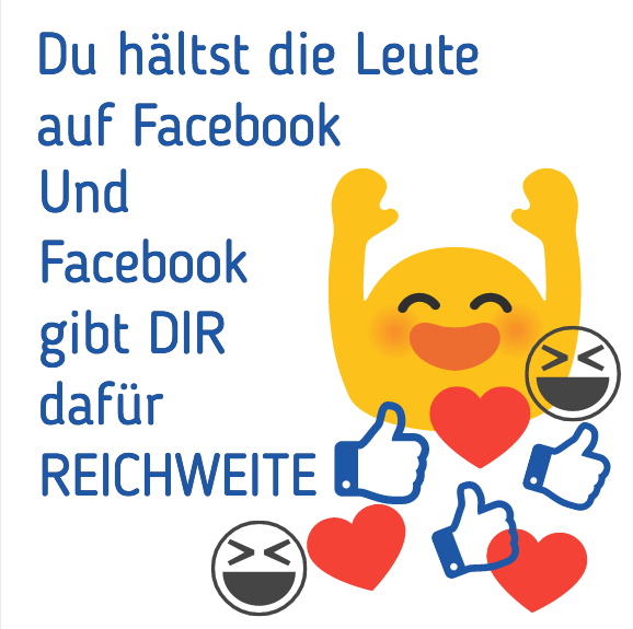 tipp1 Facebook Reichweite Grundsatz Verweildauer
