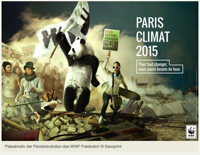 Der Panda fuehrt das Volk - WWF erzeugt Aufmerksamkeit in Werbekampagne