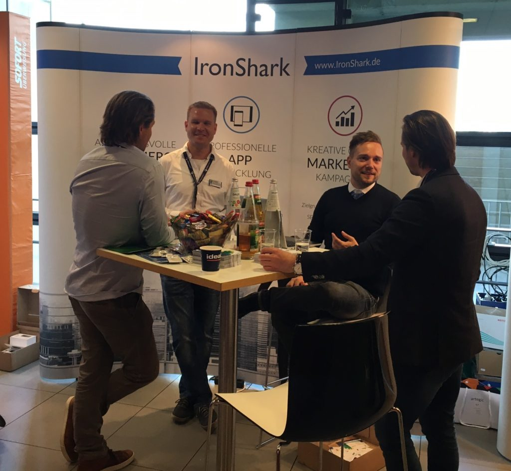 Team IronShark auf dem e-Commerce Day 2017