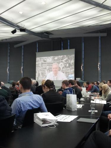 Liveschaltung zu Assange in London