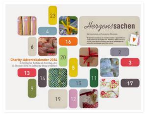 Charity Adventskalender 2014: im-sew-happy