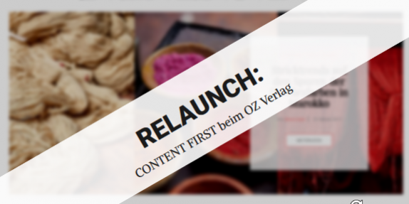 Blog zu Relaunch OZ Verlag