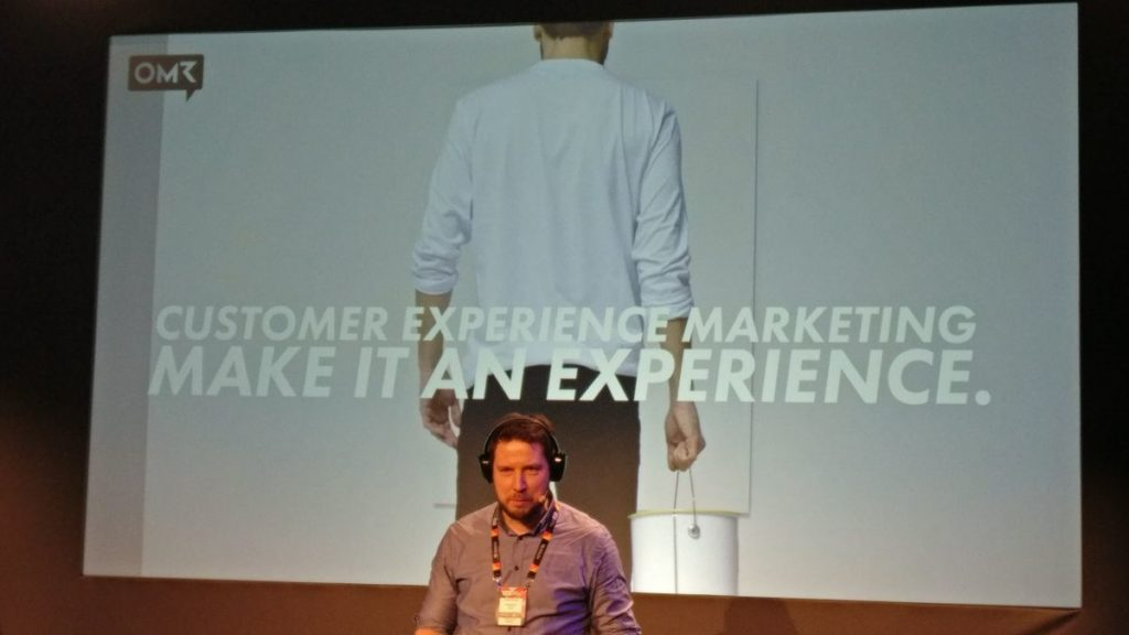 Customer Experience Marketing Session OMR17