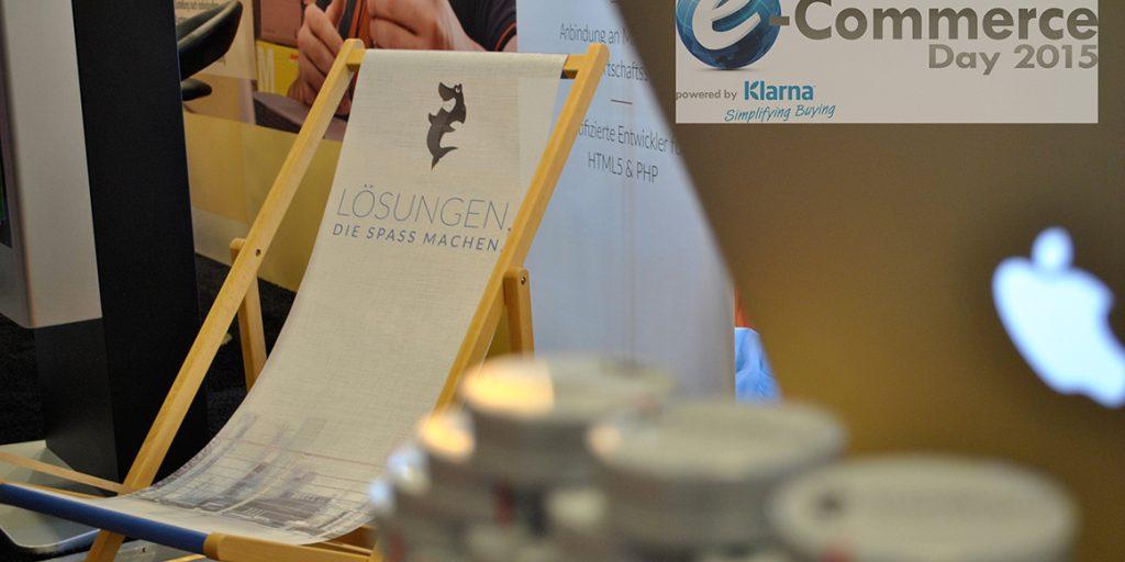 IronShark war dieses Jahr auf der e-Commerce Day 2015 in Köln vertreten