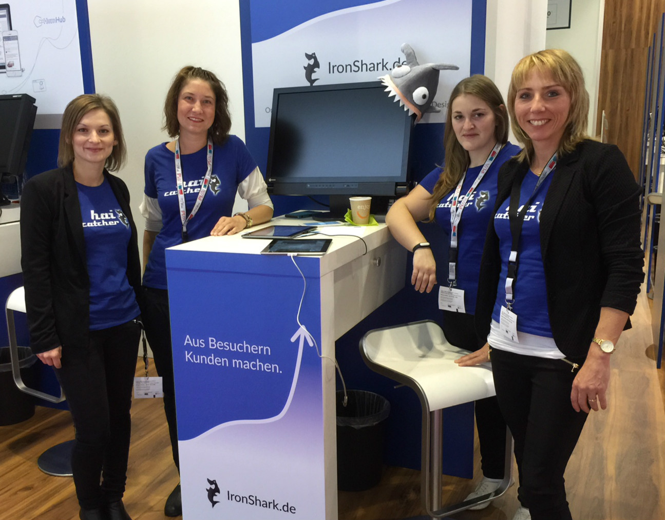 dmexco15 Stand IronShark
