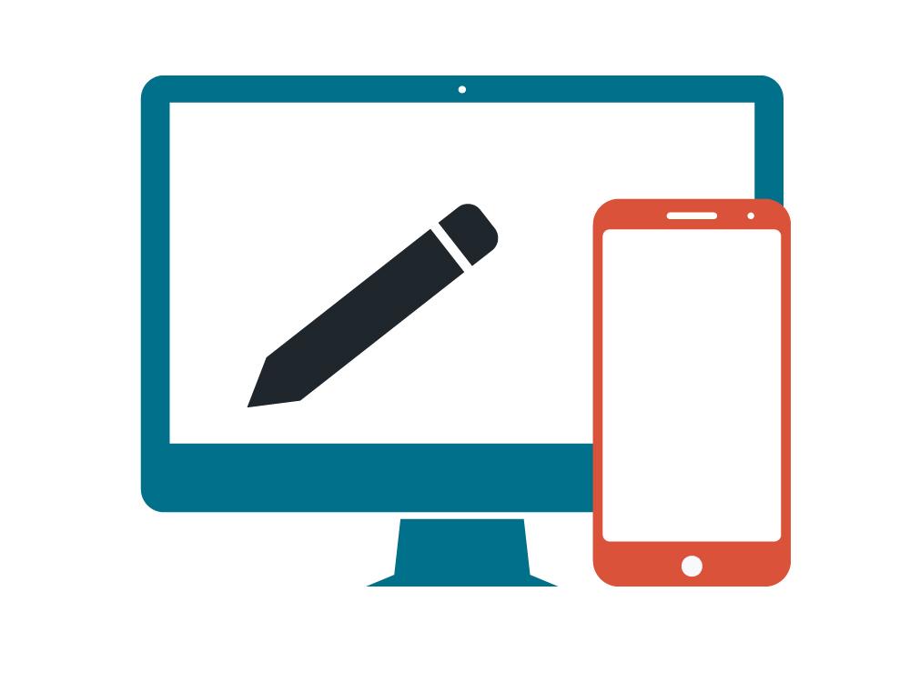 Web Apps für Browser und Smartphone.