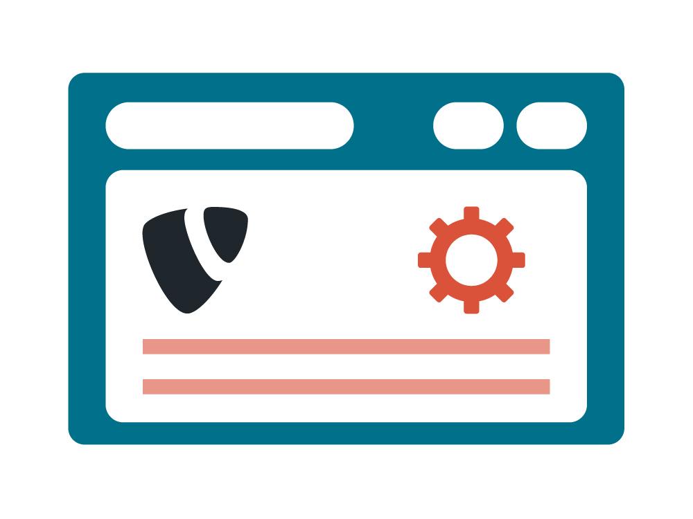 Webentwicklung mit TYPO3 von zertifizierten Mitarbeitern.