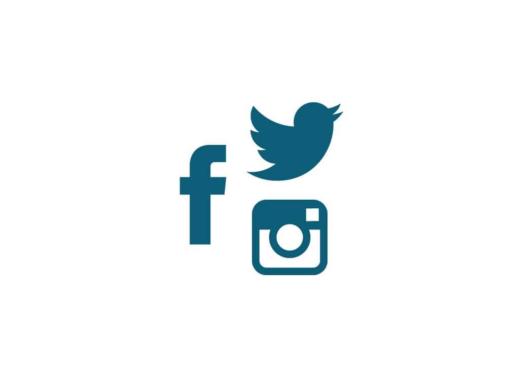 B2B Online Marketing und Social Media: Teilen Sie Content auf Twitter, schalten Sie Facebook Ads und Instagram Ads