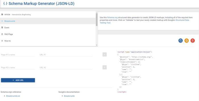 Strukturierte Daten mit dem Tool von Technicalseo generieren