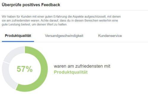 positives Facebook Feedback