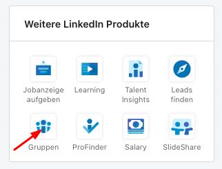 Fügen Sie Gruppen Ihrem LinkedIn Profil hinzu