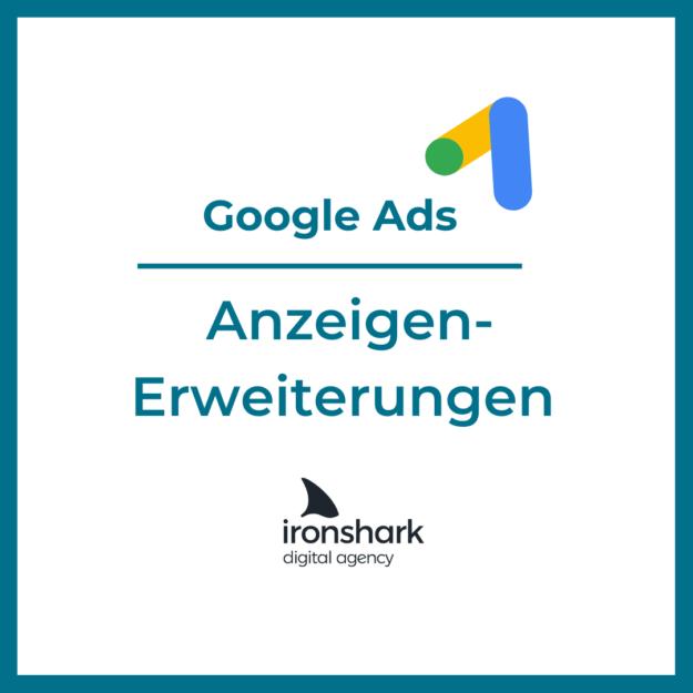 Google Ads Anzeigen erweitern