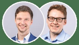 Sales Team mit Claus Weibrecht und Torsten Ivens